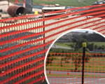 Plastic and Metal Mesh for Mobile Fencing